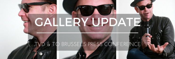 Photos: TVD & TO Press Conference in Brussels
