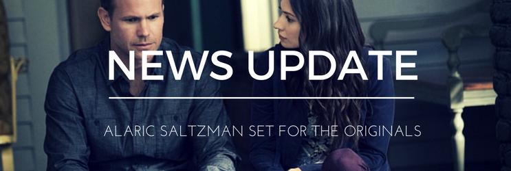 News: Alaric Saltzman set for The Originals Season 4 Crossover