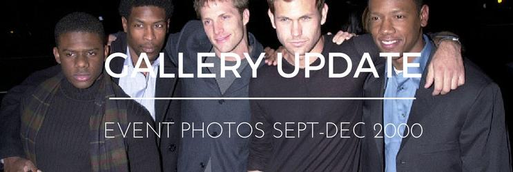 Photos: MQ Events (September-December 2000)