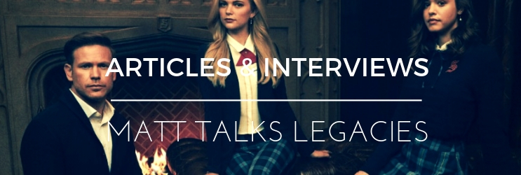 Interview: Entertainment Tonight – Legacies