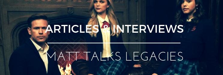 Interview: Entertainment Tonight – Legacies